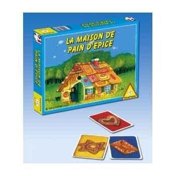 La maison de pain d'epice Piatnik-jeux 751264