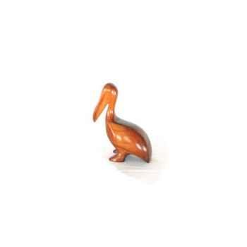 Lasterne-Miniature à poser-Le pélican à terre - 18 cm - PE17R