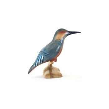 Lasterne - Les miniatures sur socle - Le martin-pêcheur - 30 cm - Last-AMA030-R