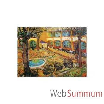Puzzle Jardin de l'hopital Puzzle Michèle Wilson M33-40