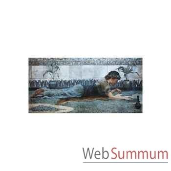 Puzzle Mosaique bleue Puzzle Michèle Wilson A823-1000