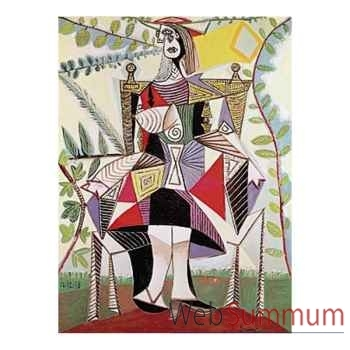 Puzzle Femme au jardin picasso Puzzle Michèle Wilson A920-150