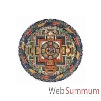 Puzzle Mandala de vajrabhairava Puzzle Michèle Wilson A336-150