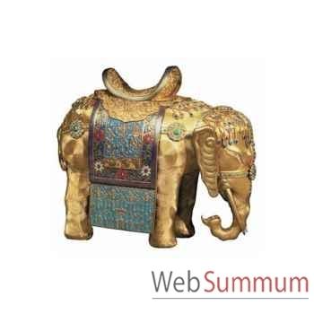 Puzzle Elephant dore Puzzle Michèle Wilson A705-150