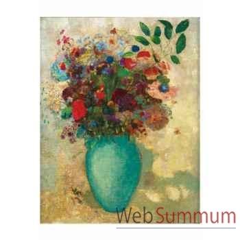Puzzle Vase turquoise redon Puzzle Michèle Wilson A137-150