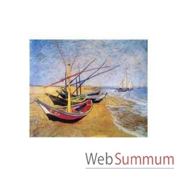 Puzzle Les barques Puzzle Michèle Wilson A973-1800