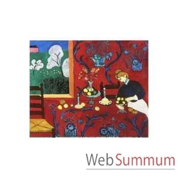 Puzzle La desserte rouge matisse Puzzle Michèle Wilson A103-250