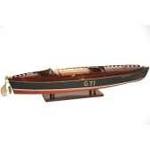 maquette runabout americain rainbow iv collection riva r rain50