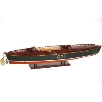 Maquette Runabout Américain-Rainbow IV-Collection Riva - R-RAIN50