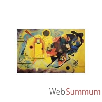 Puzzle Jaune,bleu,rouge Puzzle Michèle Wilson A106-350