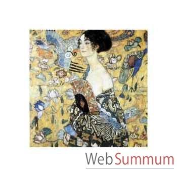 Puzzle La dame a l'Éventail Puzzle Michèle Wilson A515-350
