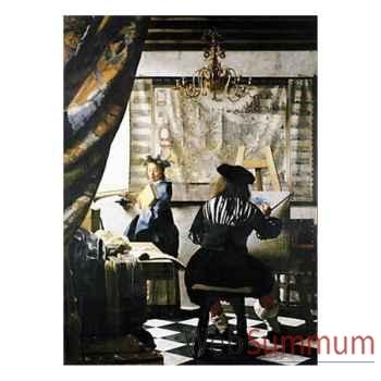Puzzle Le peintre et son modele Puzzle Michèle Wilson A827-350