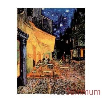 Puzzle Le cafe le soir Puzzle Michèle Wilson C36-5000