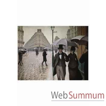 Puzzle Rue de paris temps pluie Puzzle Michèle Wilson A134-650