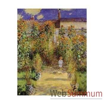 Puzzle Le jardin de l'artiste Puzzle Michèle Wilson C804-650