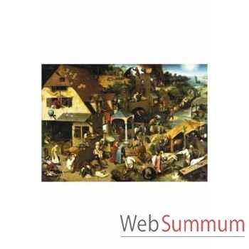 Puzzle Proverbes flamands Puzzle Michèle Wilson A131-650