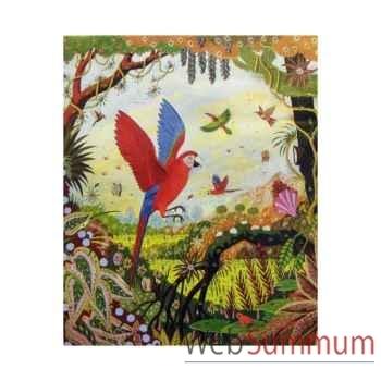 Puzzle Ara en vol thomas Puzzle Michèle Wilson A118-750