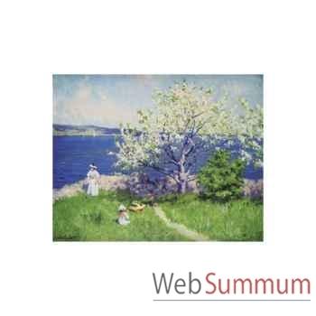 Puzzle Un fjord pres d'oslo Puzzle Michèle Wilson A720-750