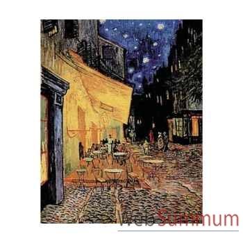 Puzzle Le cafÉ le soir Puzzle Michèle Wilson C36-750