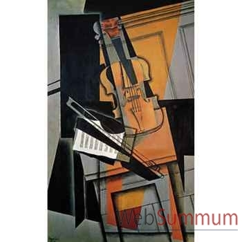Puzzle Le violon gris Puzzle Michèle Wilson A810-80