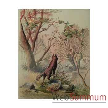 Puzzle Le loup et l'agneau s Puzzle Michèle Wilson W407-100