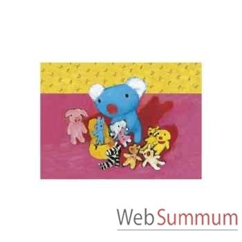 Puzzle Penelope et ses doudous Puzzle Michèle Wilson W105-12
