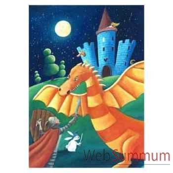 Puzzle Le dragon cardouat Puzzle Michèle Wilson W111-12