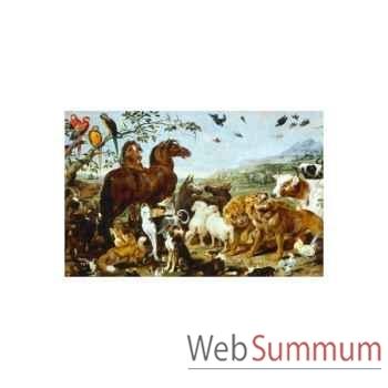 Puzzle Entree des animaux de noe Puzzle Michèle Wilson W157-12