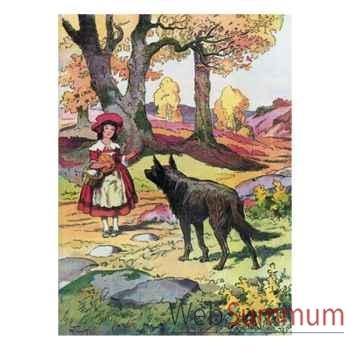 Puzzle Le petit chaperon rouge Puzzle Michèle Wilson W401-24
