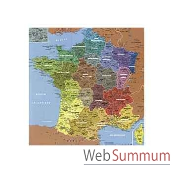 Puzzle Carte de france regions s Puzzle Michèle Wilson W50-24