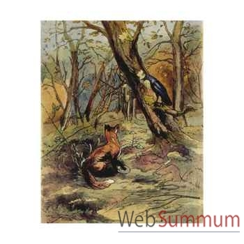 Puzzle Le corbeau et le renard Puzzle Michèle Wilson W403-50