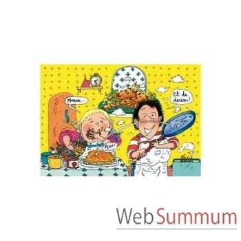 Puzzle Les crepes tom tom & nana Puzzle Michèle Wilson W116-50