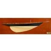 maquette voilier demie coque yum dcyum 50 cm