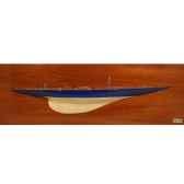 maquette voilier demie coque endeavour dcende 75 cm
