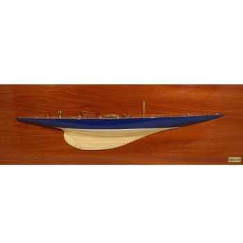 Maquette Voilier demie coque-Endeavour - DCENDE 75 cm