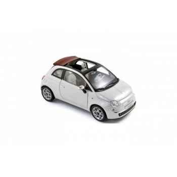 Fiat 500c 2009 - white  Norev 187751