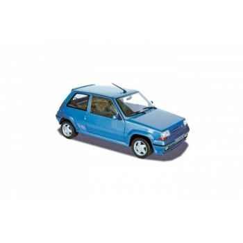 Renault super 5 gt turbo 1988 - metallic blue  Norev 185203