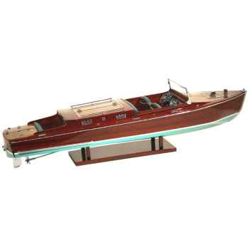 Maquette Runabout Américain-Craft-Collection Riva - R-CRAFT82