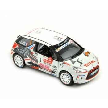 Citroen ds3 r3 - rallye du var 2010 - sébastien ogier  Norev 155278