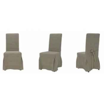 Chaise provenza en tissu h 1010 x 460 x 610 Arteinmotion SED-PRO0017