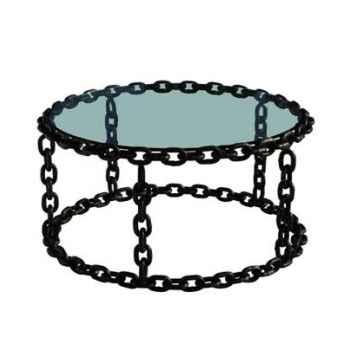Table basse avec chaine h 456 x 1000 x 1000 Arteinmotion TAV-CAT0028
