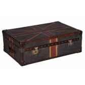malle watson en tissu avec drapeau anglais h 400 x 1300 x 800 arteinmotion bau w at0054