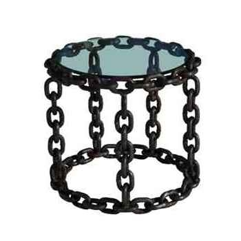 Table lampe avec chaine h 545 x 545 x 507 Arteinmotion TAV-CAT0029