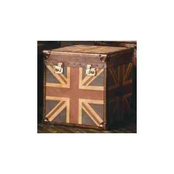 Malle star en tissu avec drapeau anglais h 600 x 600 x 600 Arteinmotion BAU-STA0020