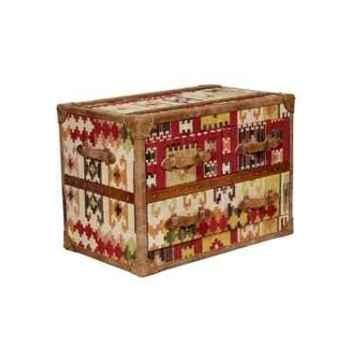 Bahut stonyhurts en kilim avec 3 tiroirs h 580 x 800 x 500 Arteinmotion CAS-STO0012
