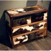 bahut stonyhurst en cuir natureblanc et brun avec 4 tiroirs h 800 x 1010 x 500 arteinmotion cas sto0017