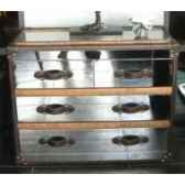 bahut stonyhurst en acier brillant h 800 x 1010 x 500 arteinmotion cas sto0022