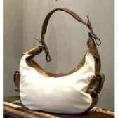 sac big banana en cuir et tissu blanc h 440 x 460 x 110 arteinmotion com bor0039