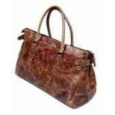 sac mini maria en cuir couleur cigare h 135 x 310 x 230 arteinmotion com bor0071