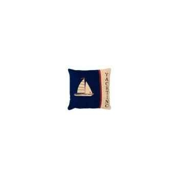 Coussin carré yaching 45 x 45 Arteinmotion COM-CUS0095